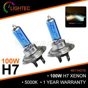 H7-100W-HID-WHITE-XENON-HALOGEN-BULBS-12V-PLASMA-UPGRADE-5000K-6000K-CANBUS