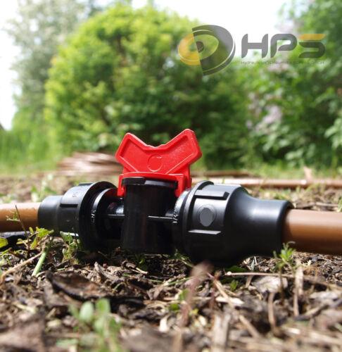 16mm de serrage raccord pour tuyau goutte à goutte Robinet BDS