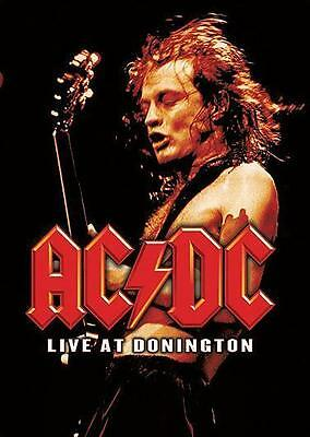 "AC/DC POSTER ""LIVE AT DONINGTON"""
