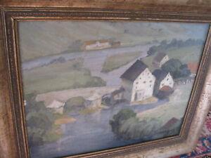 MAIER-LINDI-Heinrich-1876-Ansicht-von-HARBURG