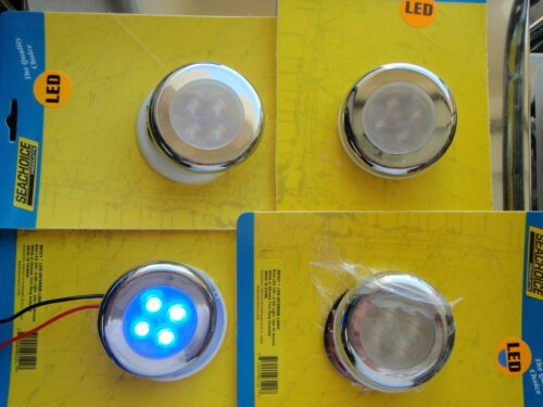 COURTESY LIGHT 4 BLUE LEDS SEACHOICE 03121 4PAC SHOP BOATINGMALL  STORE NEW
