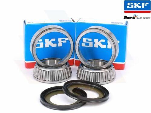 Harley Davidson Sportster 1982-2012 SKF Tapered Steering Bearing /& Seal Kit