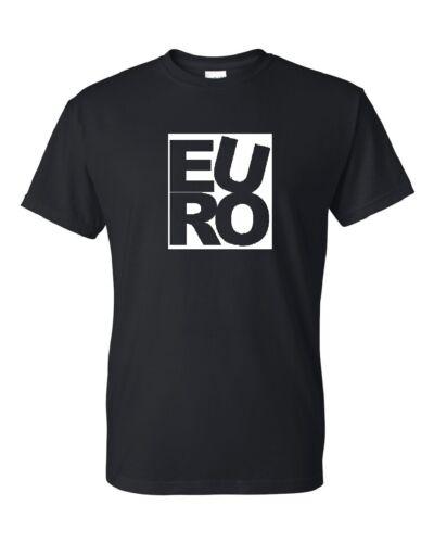 Euro Shirt Tee S M L XL 2XL germany autobahn nurburgring BMW Jetta