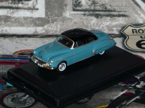 HO Scale vehicle Oldsmobile Rocket 88 Coupe Blue//Black