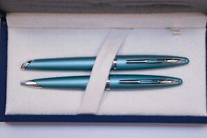 Waterman-Carene-Sea-Blue-Set