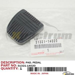 FACTORY LEXUS SC300 TOYOTA 4RUNNER CLUTCH /& BRAKE PEDAL PADS COVER SET OF 2 OEM
