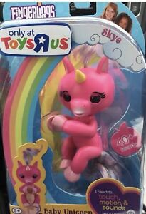 New Authentic Fingerlings Pink Baby Unicorn Skye Toys R Us Exclusive Electronic & Interactive Toys & Hobbies
