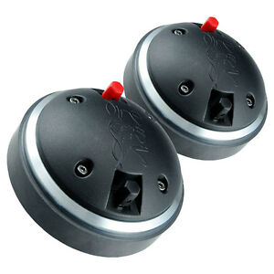 "Pair PRV Audio D290Py-B 1"" Polyimide Horn Compression Driver 8 Ohm 2/3-Bolt"