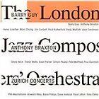 Anthony Braxton - Zurich Concerts (Live Recording, 2013)
