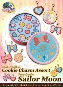 Assortiment de breloques de biscuits de pâtisserie Sailor Moon Megahouse Premium Bandai & Ve Ve