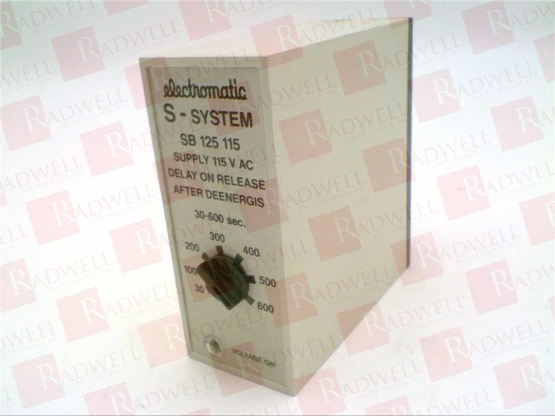 CARLO GAVAZZI SB-125-115-600S   SB125115600S (NEW NO BOX)