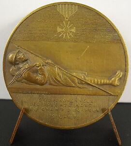 Medal-Let-US-Remember-War-1914-1919-of-Soldiers-Dead-a-J-Corbierre-Medal
