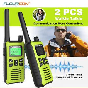 16CH-LCD-Twins-Walkie-Talkies-PMR-446MHZ-Two-Way-Radio-5KM-Range-Interphone-UK