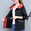 Spring-autumn-women-039-s-loose-new-short-jacket-baseball-uniform-hooded-coat thumbnail 2