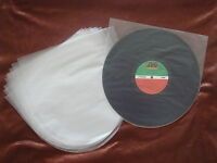 """10 pcs Plastic Record Inner Sleeves 12"""" LP Made in Japan Protect your Vinyl 12"""