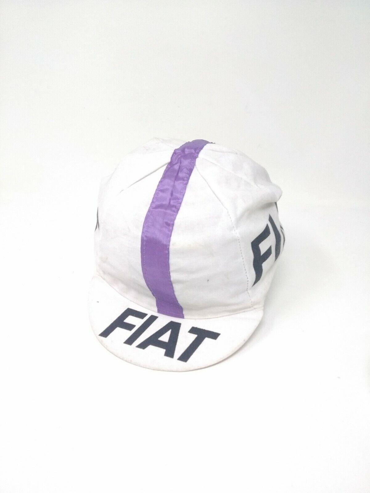Vintage cappellino ciclismo Cycling hat  Fiat originale original