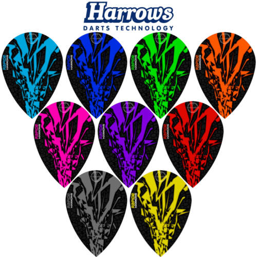 5 10 Sets Harrows RapideX Pear Dart Flights Darts Flights Bulk