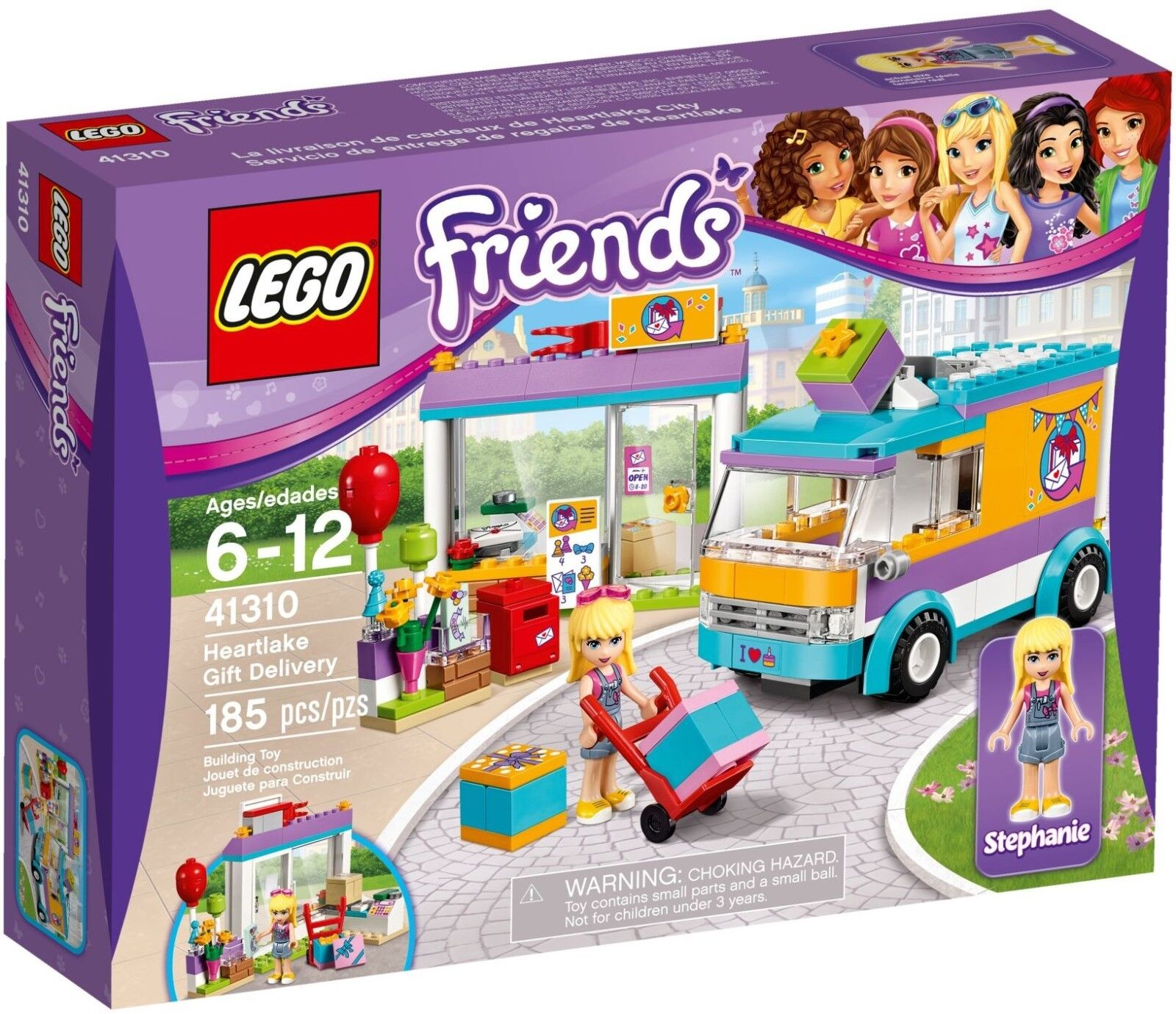 LEGO Friends Heartlake Gift Delivery 41310 - Brand New