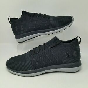 brand new f0520 6c260 Details about *NEW* Under Armour Slingflex Rise (Men's Size 11.5) Running  Sneakers Gray Black