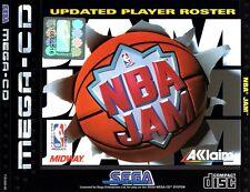 ## NBA Jam - SEGA Mega-CD / MCD Spiel - TOP ##