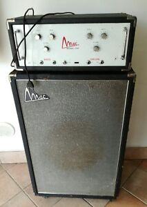 Amplificatore Valvolare Testata cassa anni 60 Vintage per Basso - Italia - Amplificatore Valvolare Testata cassa anni 60 Vintage per Basso - Italia
