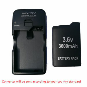 Replacement-Battery-Pack-Wall-Charger-For-Sony-PSP-1000-1001-1003-1004-Fat-3-6v