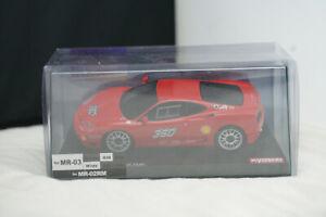 Kyosho MZP331CR Ferrari 360 Challenge MR-03W Mini-Z Red Autoscale Collection ASC