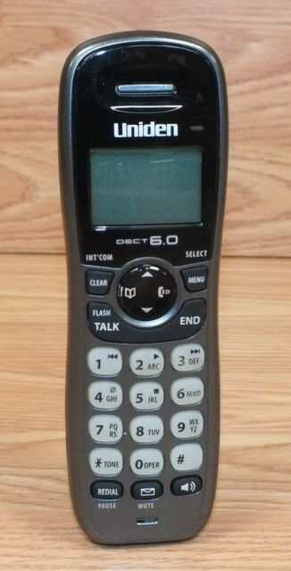 uniden dect1480 3 dect 6 0 cordless 3 handset phone answering system rh ebay com Uniden Cordless Phone Manual Wireless Uniden Telephone Manual