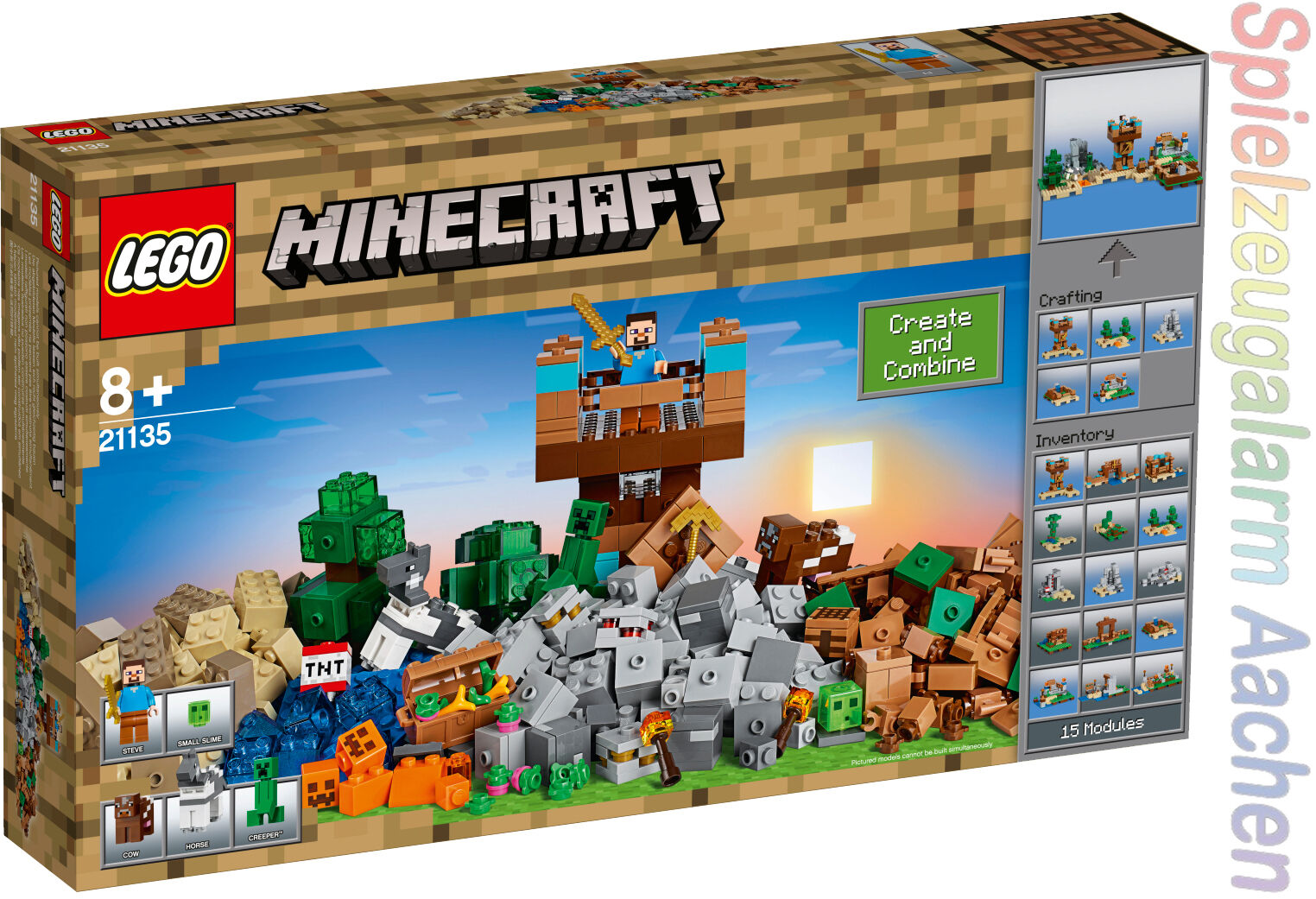 LEGO 21135 Minecraft ™ II. Edition crafting BOX 2.0 n9 17