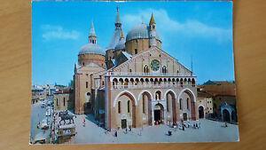 Cartolina-Postcard-PADOVA-Basilica-del-santo-Viaggiata-1970-francobollo-Animata