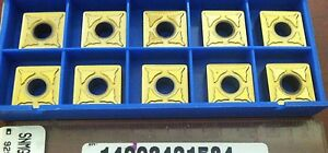 Valenite-Snmg120408lc-Snmg432lc-929-Indexable-Carbide-Turning-Inserts-Qty-10