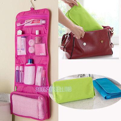Travel Hanging Wash Bag kit Waterproof Portable Organizer makeup Toiletry