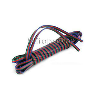 Wholesale-1-200M-4PIN-RGB-Wire-Cable-Cord-for-5050-3528-RGB-LED-Strip-Balck