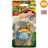 Nylabone Healthy Edibles Wild Turkey/salmon Dog Treats, (dogs Up To 25 Lbs) 2-ct