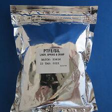 Pk/100 PerkinElmer 20 mm Crimp Aluminum Caps w/ PTFE/Silicone Septa # B4000022