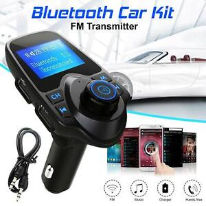 Bluetooth-Car-FM-Transmitter-AUX-Wireless-Radio-Adapter-USB-Charger-MP3-Player