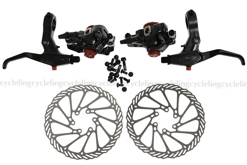 Avid BB7 Disc Brake Front and Rear Calipers 160mm G3 redors SD7 Levers..