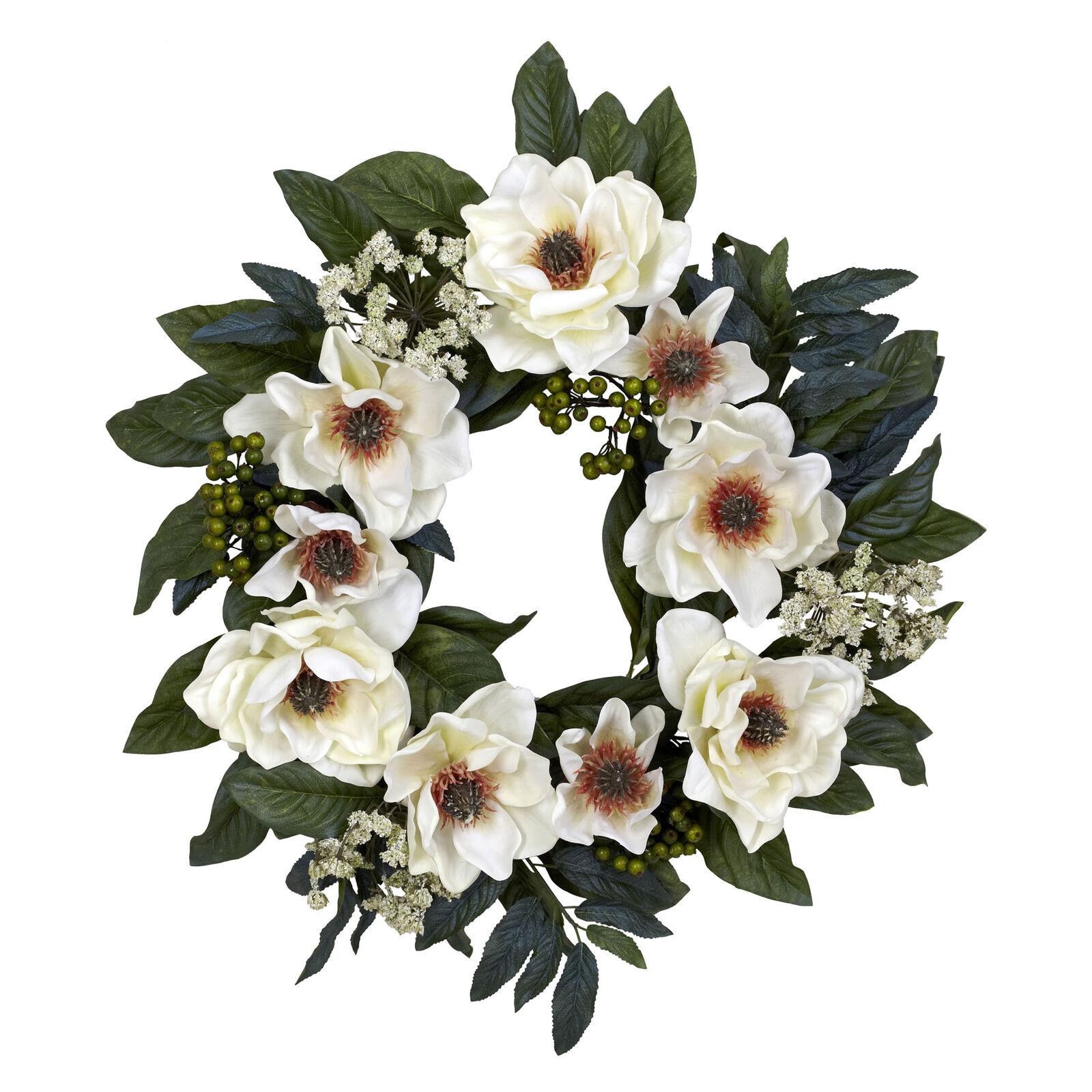 Home & Kitchen Seasonal Dcor Worth Imports 22 Magnolia Leaves ...