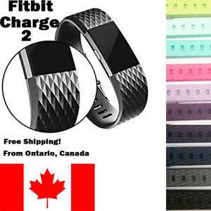 For-Fitbit-Charge-2-Band-Replacement-Wrist-Strap-Silicone-Smart-Watch-Band-S-L
