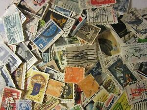 Older-lot-USA-postage-stamps-ALL-DIFFERENT-USED-5-AND-6-CENT-FREE-SHIPPING