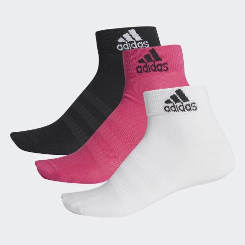 Adidas Damen Sportsocken DZ 9437 LIGHT ANK 3PP