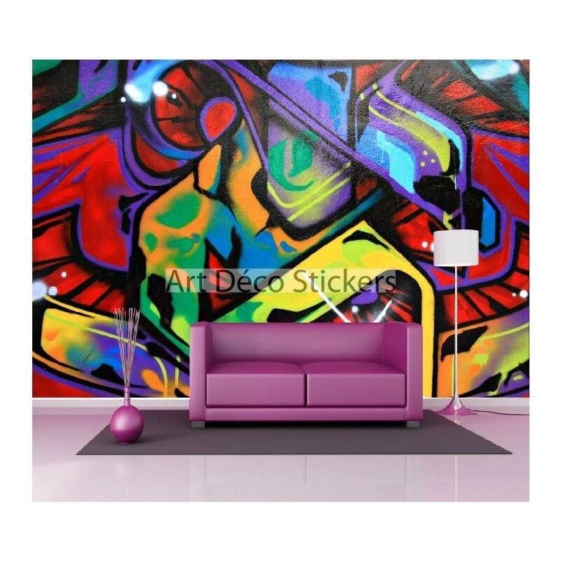 Stickers muraux 1502 géant déco : Graffiti Tag 1502 muraux 34ba6e