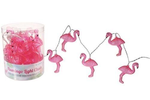 DEL Guirlande Électrique Flamingo Lumière Guirlande Éclairage Party fête d/'été coloré Zoo