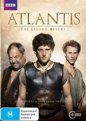 1 of 1 - Atlantis (DVD, 4-Disc Set) Complete Series 1 - Region 4 - Good Condition