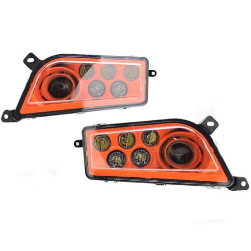 16-18 POLARIS GENERAL 1000 ORANGE LED HEADLIGHTS CONVERSION KIT POLARIS LAMPS