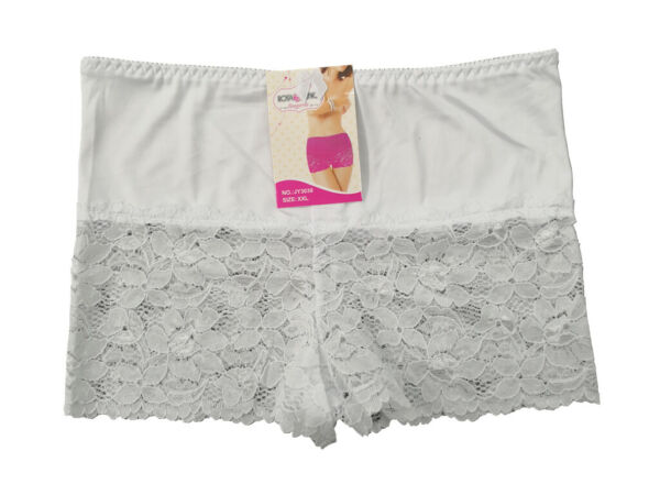 6er PACK Spitze Dame Panties Hotpants Hipster Slip Pants Unterwäsche