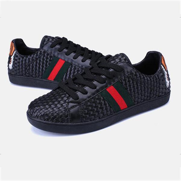 zapatillas deportivas zapatillas unisex suela rojo negro gimnasia cómodo CW847