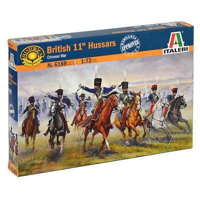 Di Carattere Dolce Italeri British 11° Hussars Ussari Crimean War Figura Figure 1:72 Art. 6188