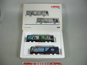 Aj133-1-Marklin-Marklin-h0-ac-voiture-set-monde-du-travail-DSB-un-KK-Neuw-OVP