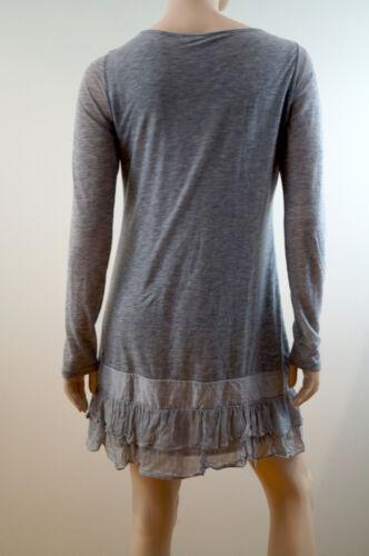 Med Franje mini Zoom korte Lichtroze Ruffle mouw Theorie Casual jurk Lange x8vnE0wA